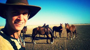 Horseback riding in Australia