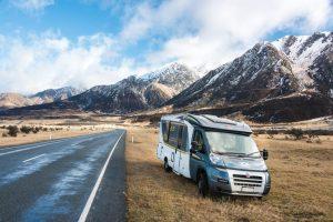 Met de camper naar Nieuw-Zeeland