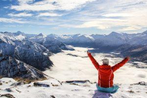 Winter in Nieuw-Zeeland
