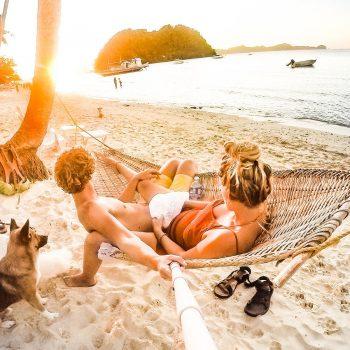 Heerlijk op vakantie