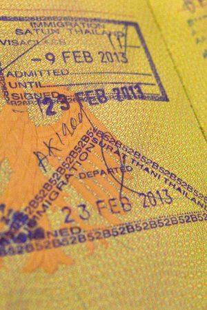 Visums voor azie