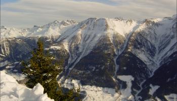Mountainbiken, bergwandelen of bergbeklimmen in de Alpen