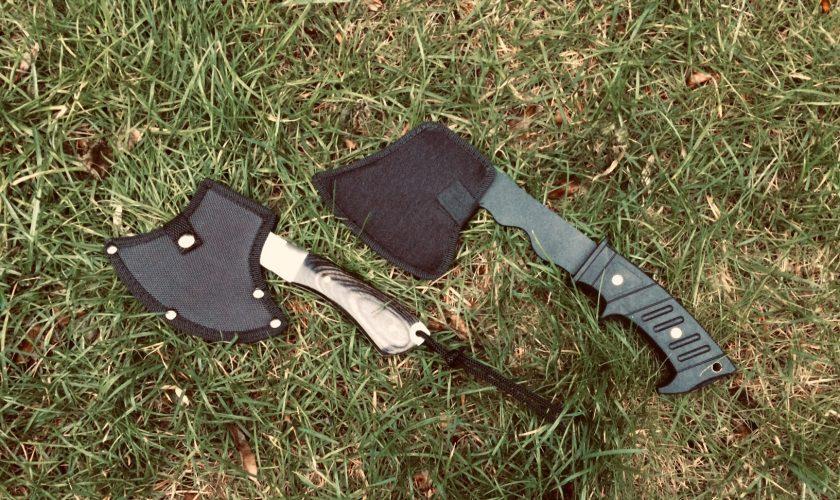 Een handbijl voor tijdens je outdoor-activiteiten: IDEAAL!