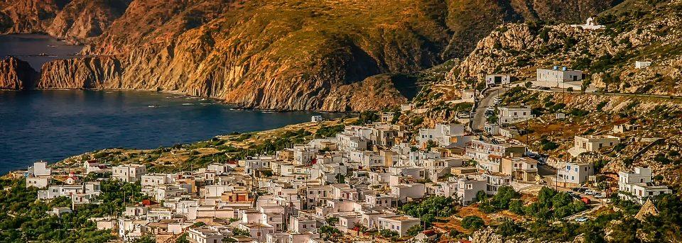 schiereiland in griekenland