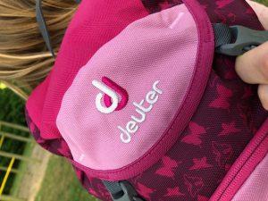 roze Deuter kinderrugzak