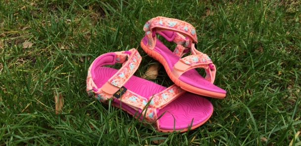 teva sandalen in plaats van waterschoenen