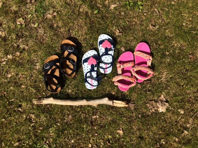 Sandalen test
