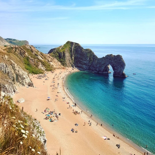UK Durdle Door Beach