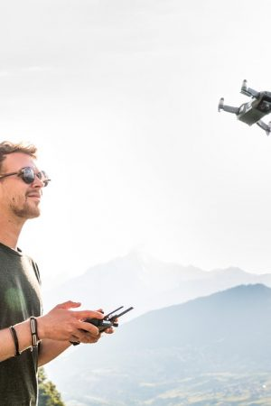 Backpacken met een drone!