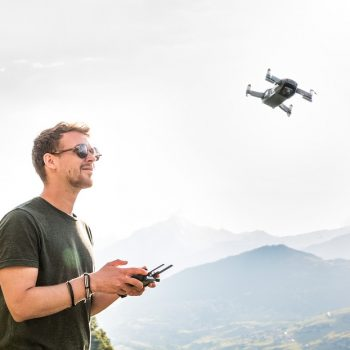 Backpacken met een drone!