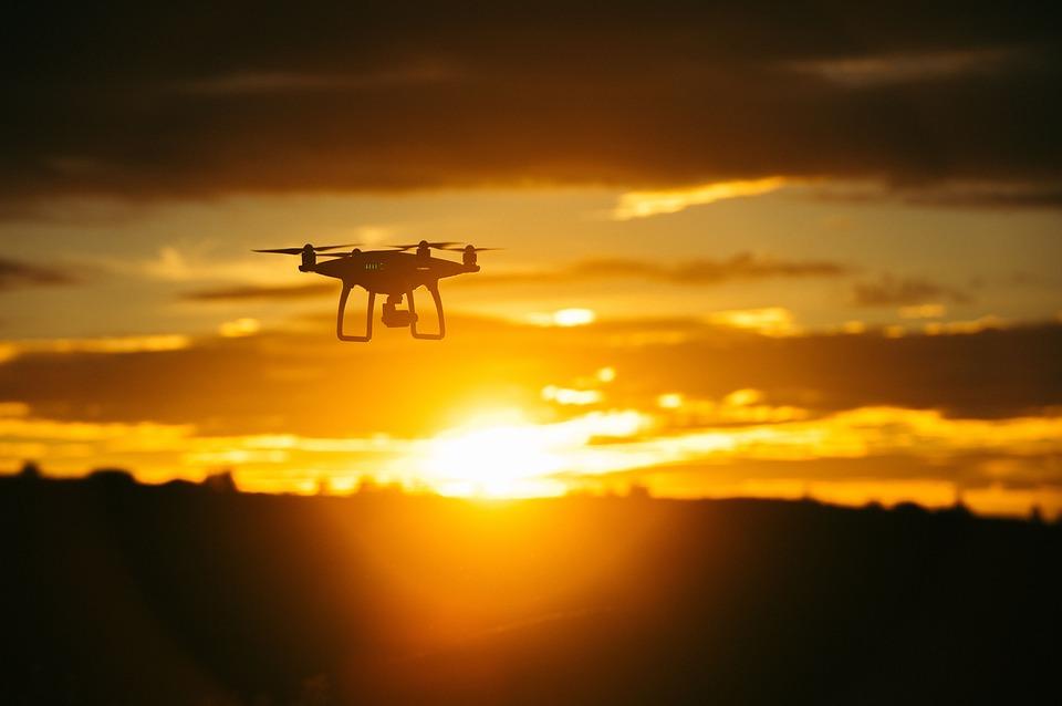 vliegen met je drone