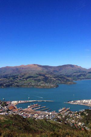 Port hill view lyttelton