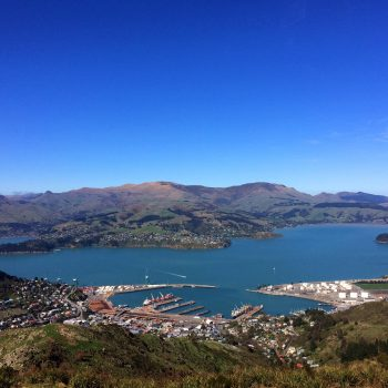 Port hill view lyttelton