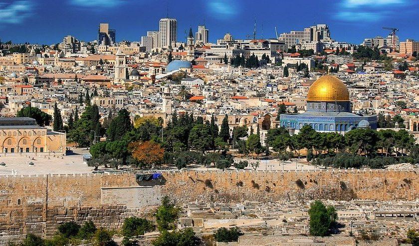 Op vakantie naar Israël