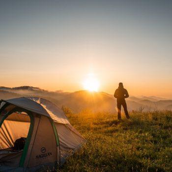 voordelen van backpacken met een tent